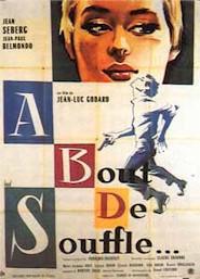 Poster, Godard's BREATHLESS