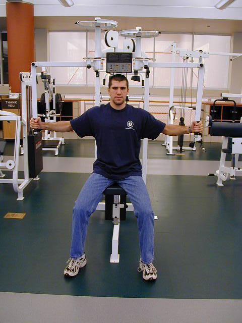 Shoulder Press Machine Carleton Fitness Cente...