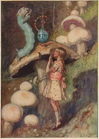 Alices Adventures in Wonderland - Illustrated by A. E. Jackson